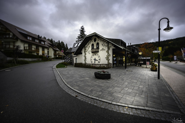 Big cuckoo clock in Titisee - Black Forest - Germany