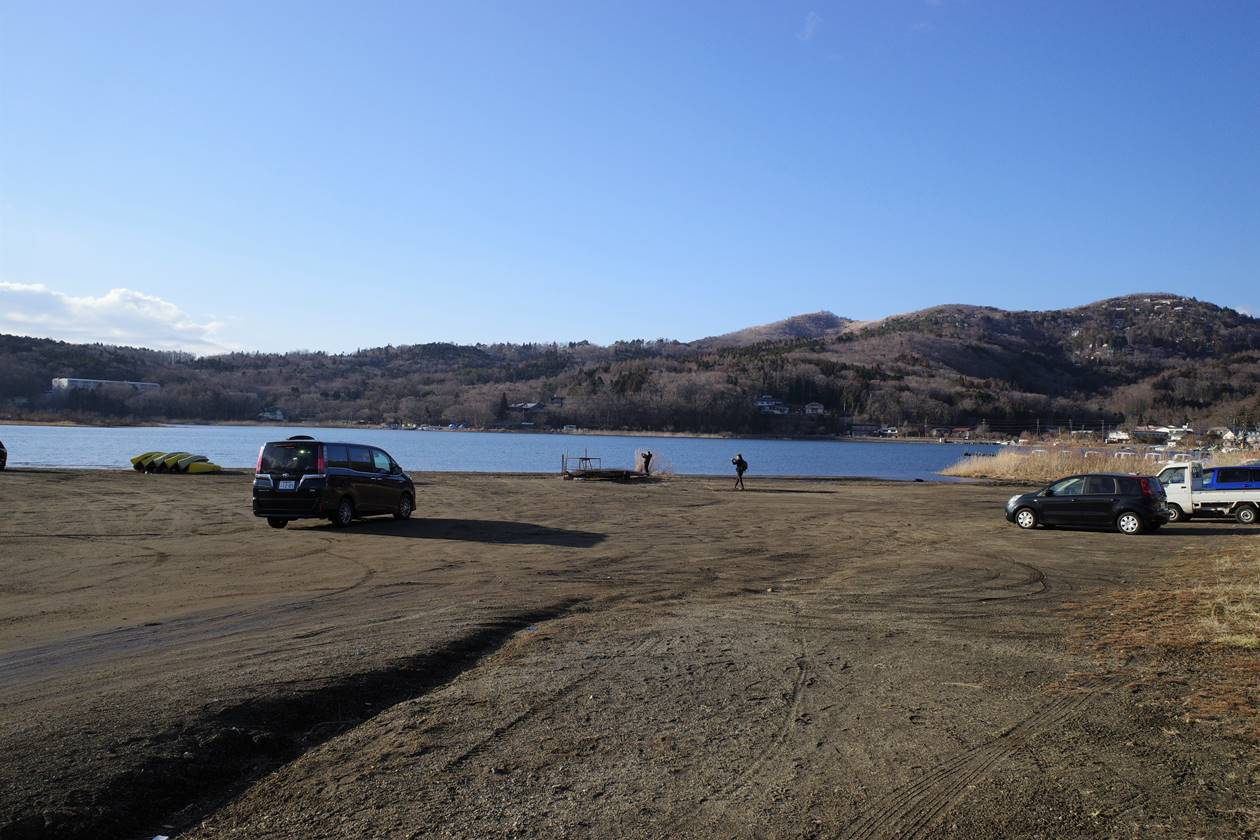 山中湖・平野湖畔