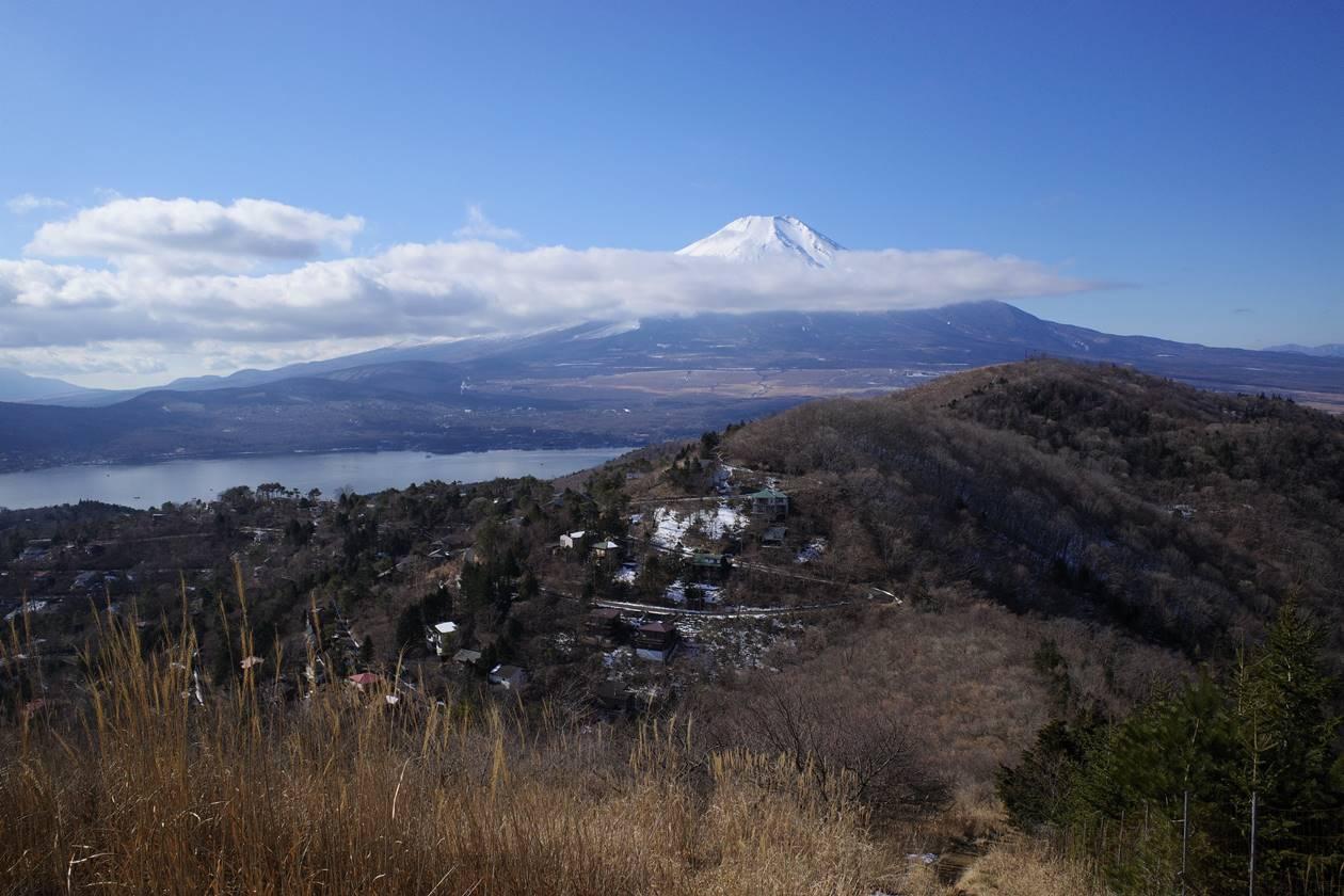 平尾山から眺める富士山