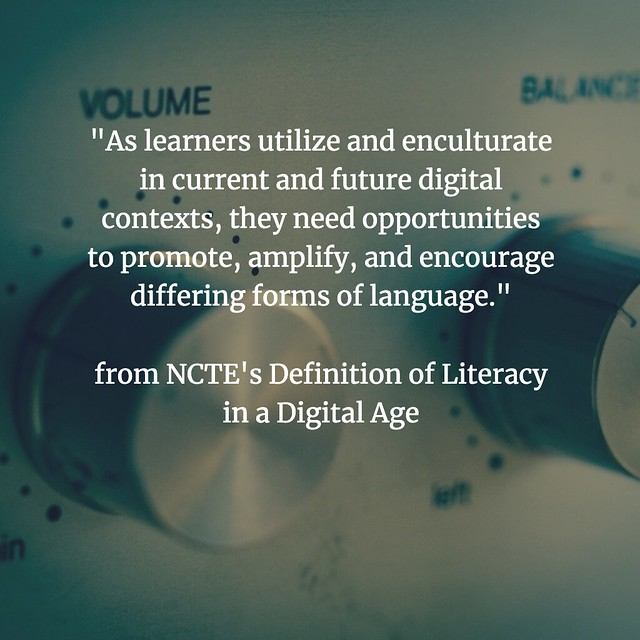 Defining Digital Literacies NCTE amplify