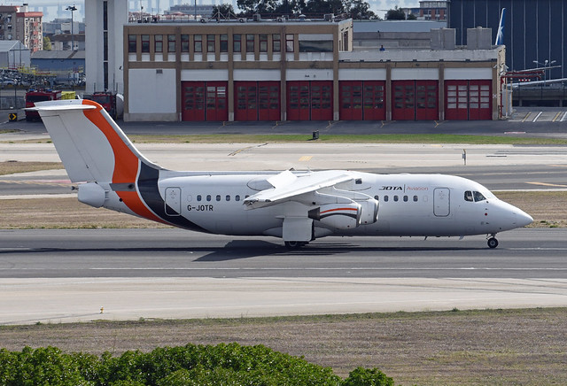 JOTA Aviation British Aerospace Avro RJ85 G-JOTR
