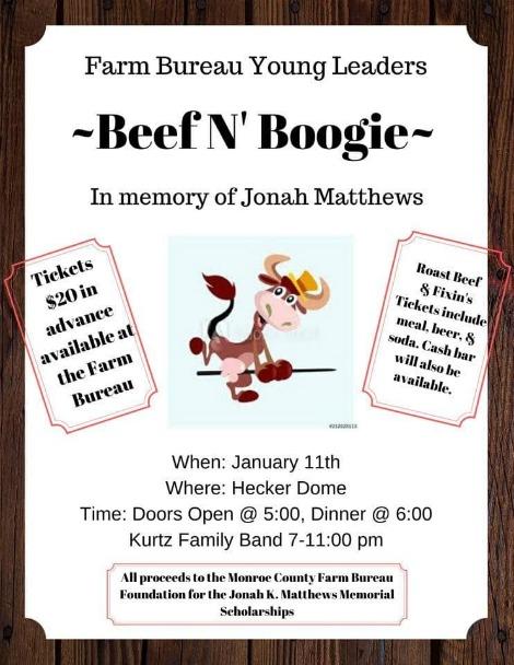 Beef N' Boogie 1-11-20