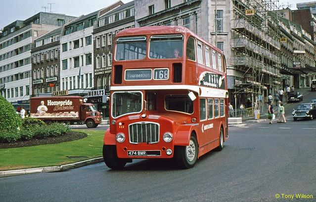 474BMR National Bus Company NBC Hants & Dorset H&D 122