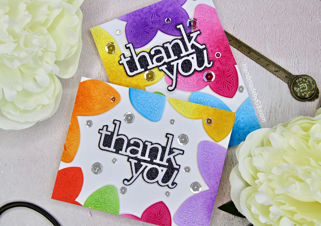 A set of Thank You cards