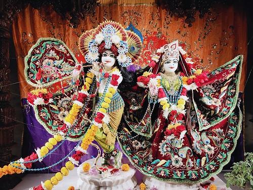 ISKCON Rajkot Deity Darshan 03 Jan 2020