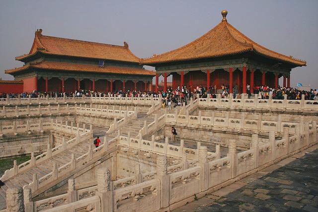 Ciudad prohibida de Pekín (China)