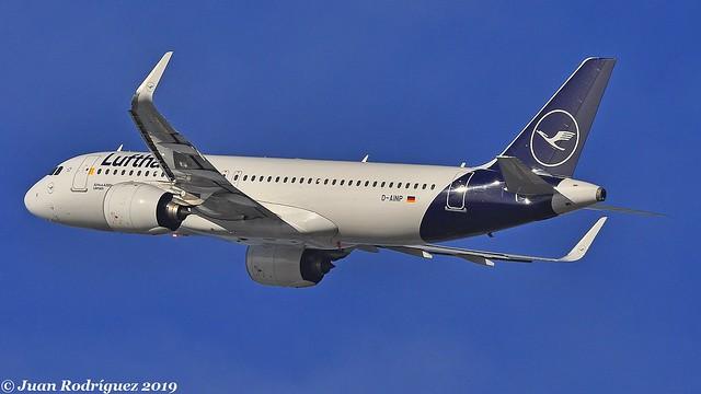 D-AINP - Lufthansa - Airbus A320-271N - PMI/LEPA