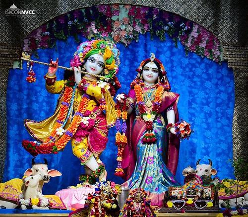 ISKCON Pune NVCC Deity Darshan 03 Jan 2020