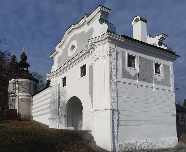 Piarg Gate (rebuilt in the 18th cent. in baroque stye)