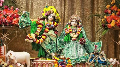 ISKCON Punjabi Bagh Deity Darshan 03 Jan 2020