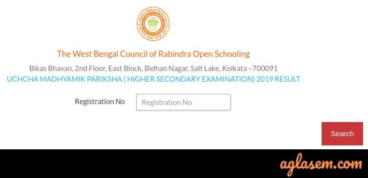Rabindra Open Schooling HS Result December 2019 (Released) | Rabindra Mukta Vidyalaya Result 2019