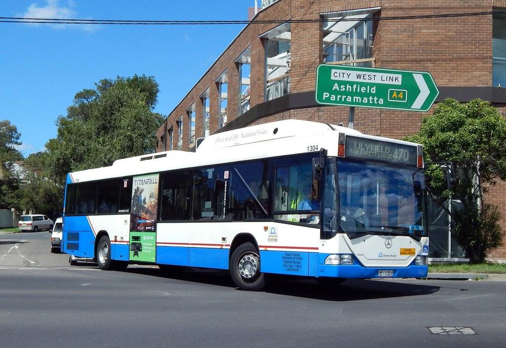 Bus 1304, Lilyfield, Sydney, NSW.