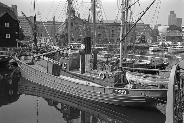 Historic Ships, St Katherine's Dock, 1981