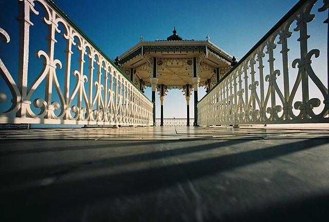 Lomo – Brighton Beach bandstand