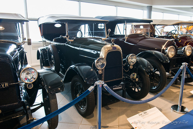 Fiat 501 3-drs Tourer - 1925