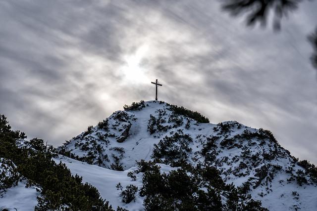 Gipfelkreuz am Zunterkopf