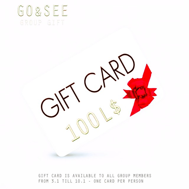 Go&See - Gift Card