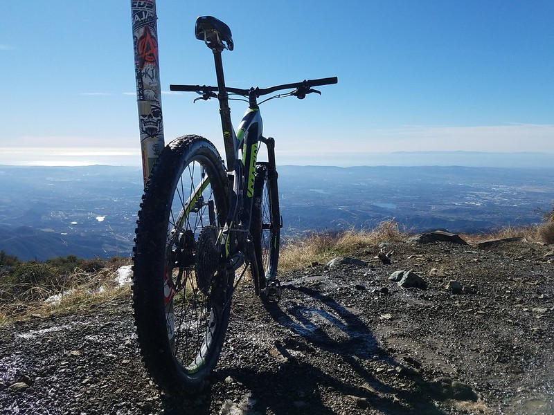 Santa Ana Mountains • Santiago Peak with view of Catalina Island