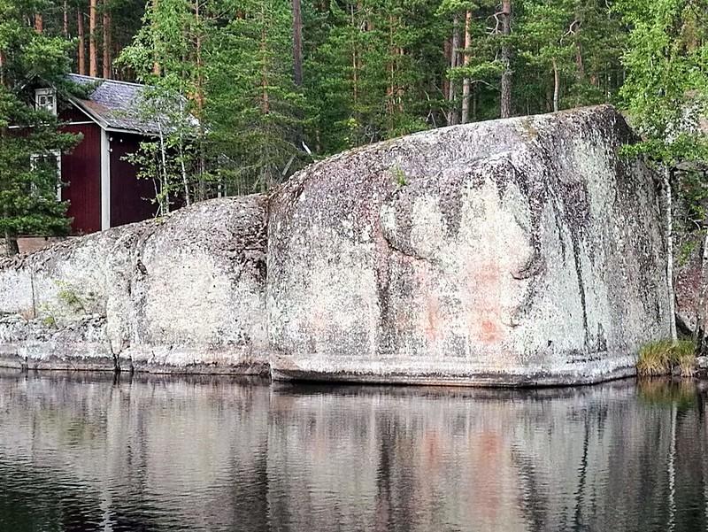 kalliomaalaus verla