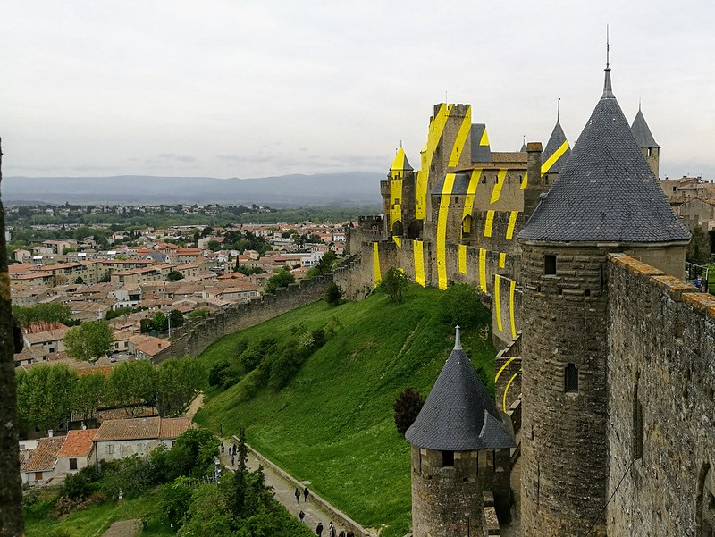 linnanmuurit carcassonne