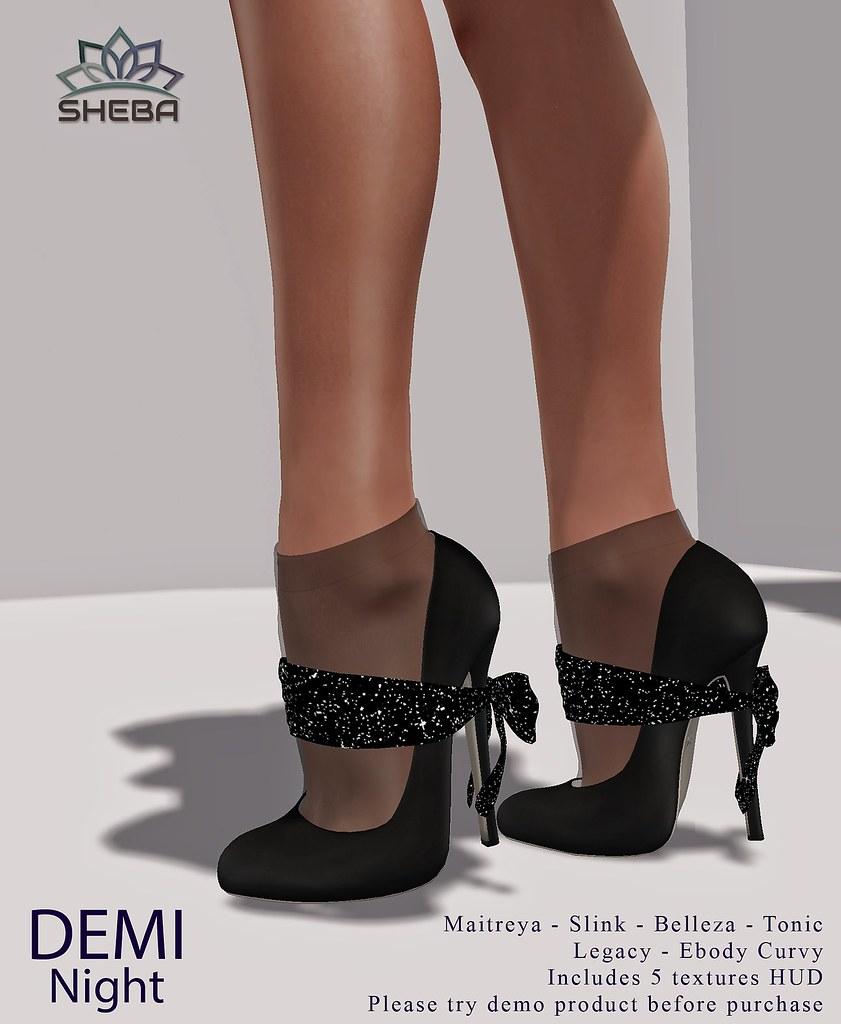 Demi Night Heels @FBF
