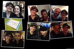 20190327&29_i1 My mostly-dark-and-grainy selfies with most of the cast of ''Shipwreck'' at the Almeida Theatre, London, England