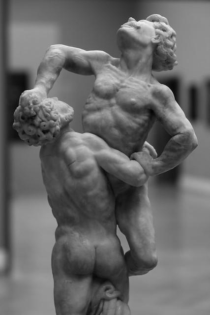 Herkules brydes med Antæus (c. 1600)