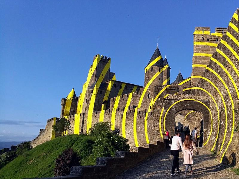 linna taide carcassonne
