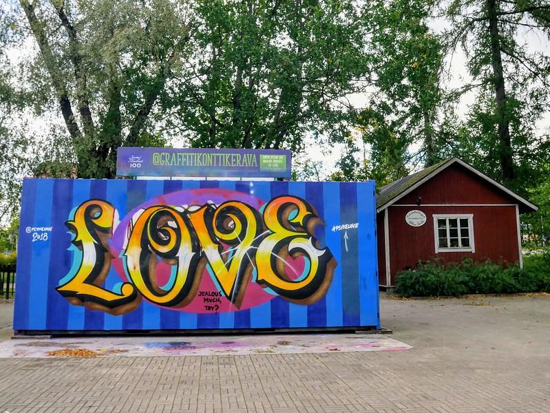 graffitikontti kerava
