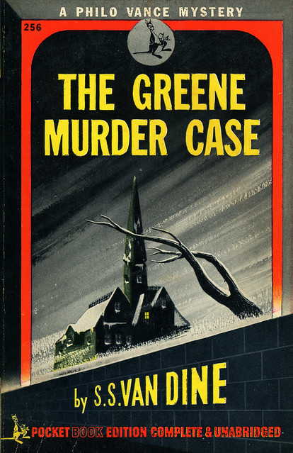 Pocket Books 256 - S.S. Van Dine - The Greene Murder Case
