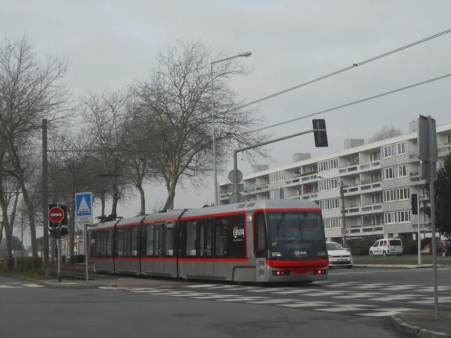 Tramway VLC Breda n° 07