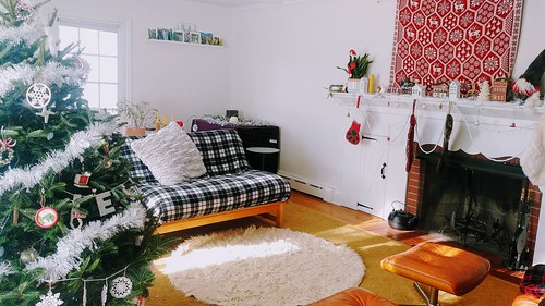 Living Room for Holidays, day