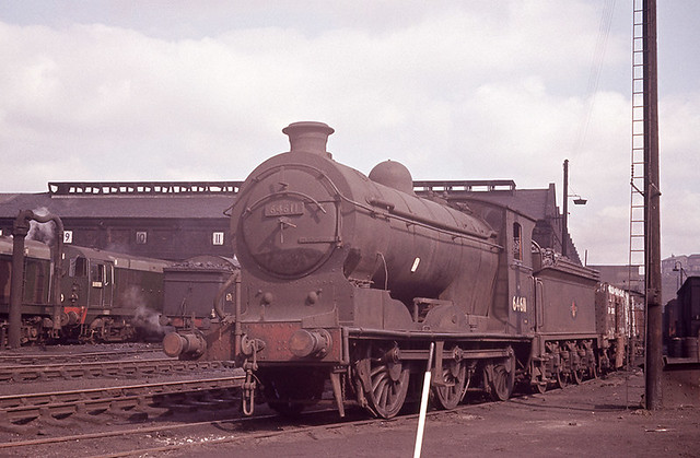 J37 64611 Eastfield Shed Copyright Waddo Rail Archive Collection SSUK3