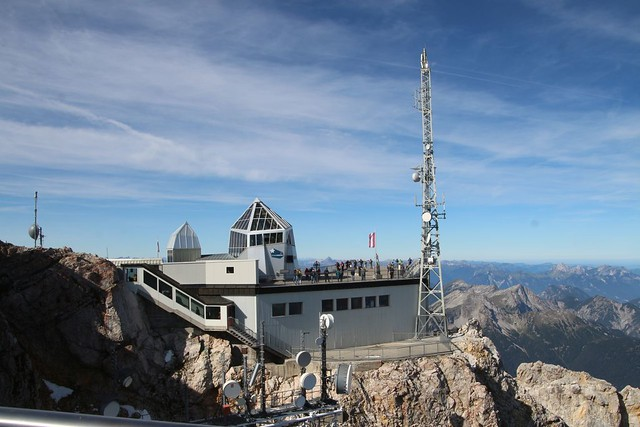 on Summit Zugspitze