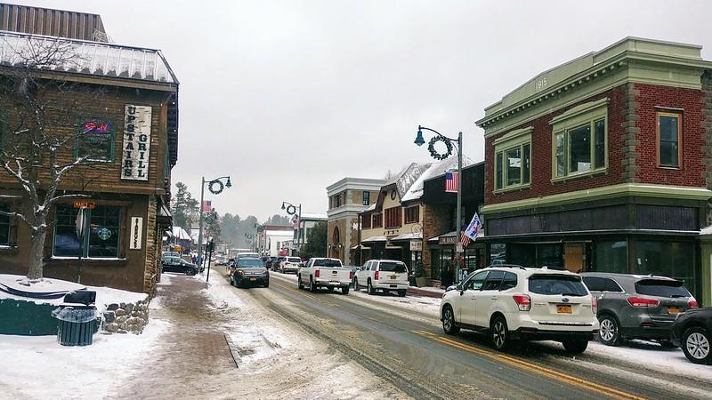 Lake Placid's Main Street