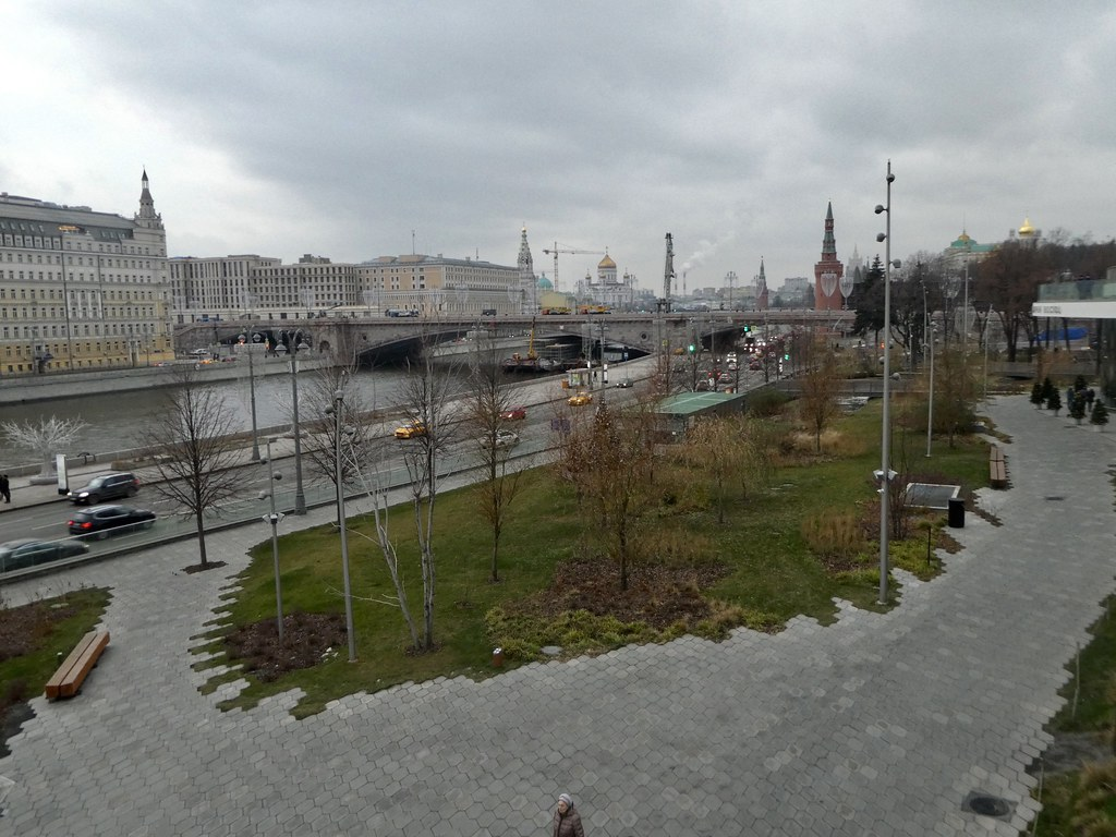Zaradaye Park, Moscow