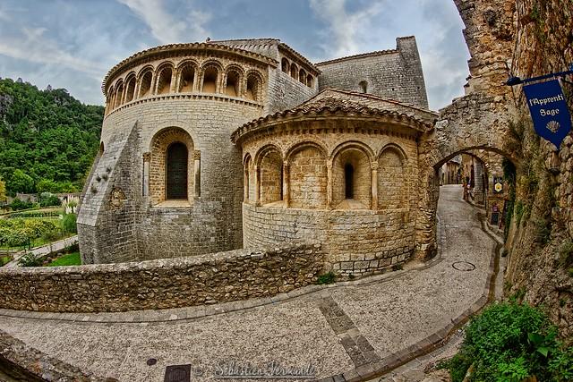 L'abbaye de Saint-Guilhem-le-Désert 34261 France