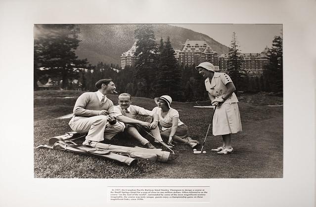 Banff Springs Hotel Golf, Circa 1930