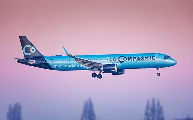 A321 Neo La Compagnie