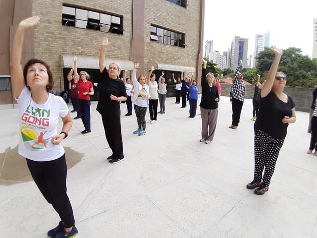 03/01/2020. Prática chinesa promove bem-estar e reduz dores. Fotos: Divulgação/PBH