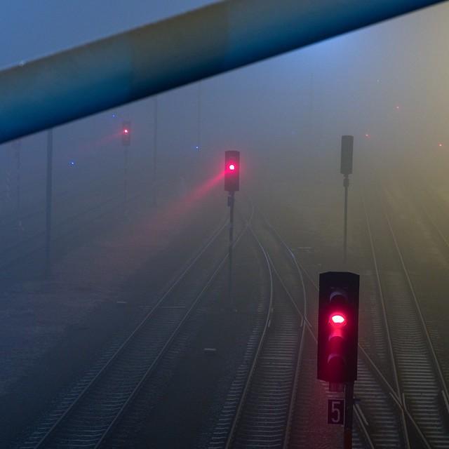 Train Station at Night I