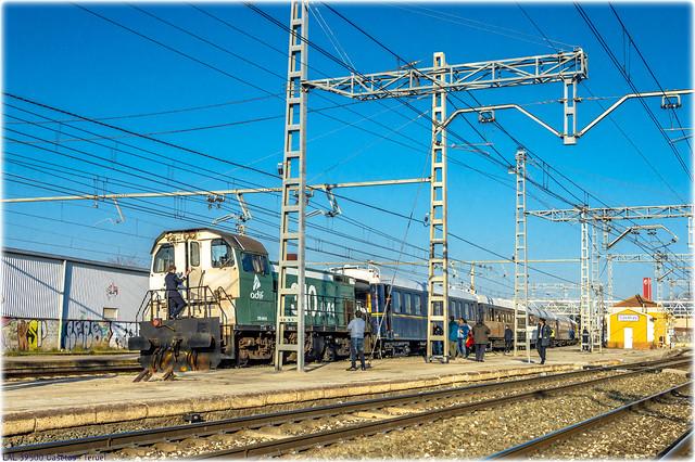 Tren Azul en Casetas