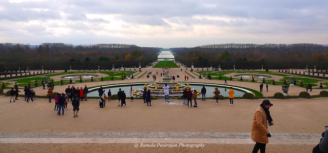 Garden of Versailles Palace, Paris