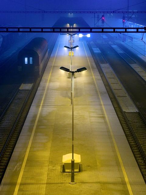 Train Station at Night II