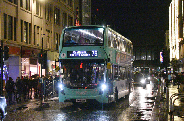 First Glasgow Alexander Dennis Enviro 400 MMC 33401