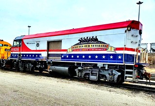 Amtrak's convert baggage unit.