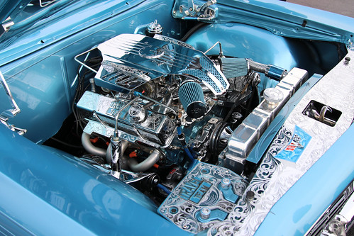 66 Orchid Engine Compartment