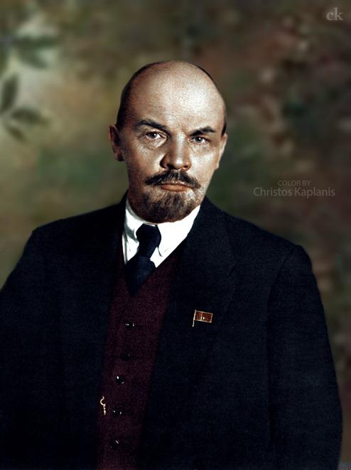 Vladimir Ilyich Lenin  1916