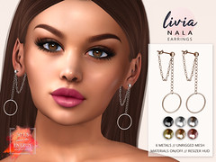 LIVIA // Nala Earrings [50L ENERGY Weekend Sale!]