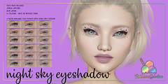 *Rainbow Sundae* Night Sky Eyeshadow